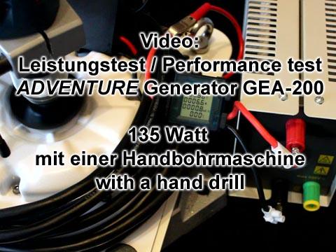 225 W elvwis ® Adventure vitres-Générateur éolienne hydroélectrique Aérogénérateur